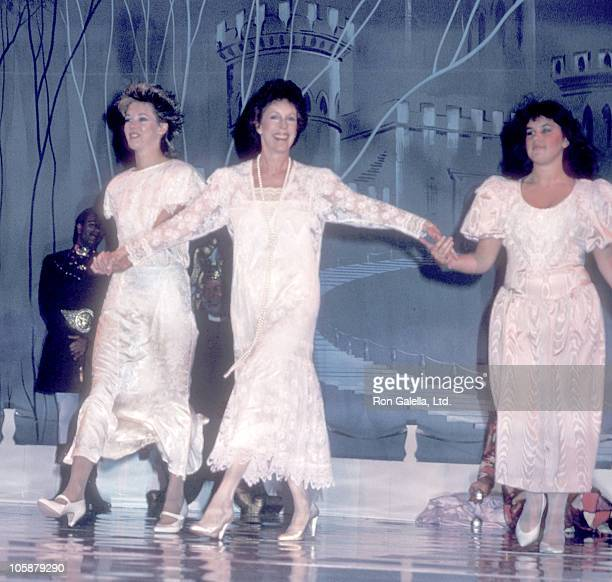 Carrie Hamilton Carol Burnett and Jody Hamilton during 5th Annual MotherDaughter Fashion Show March 27 1986 at Beverly Hilton Hotel in Beverly Hills...