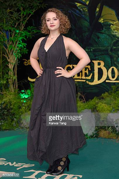 Carrie Hope Fletcher arrives for the European premiere of 'The Jungle Book' at BFI IMAX on April 13 2016 in London England