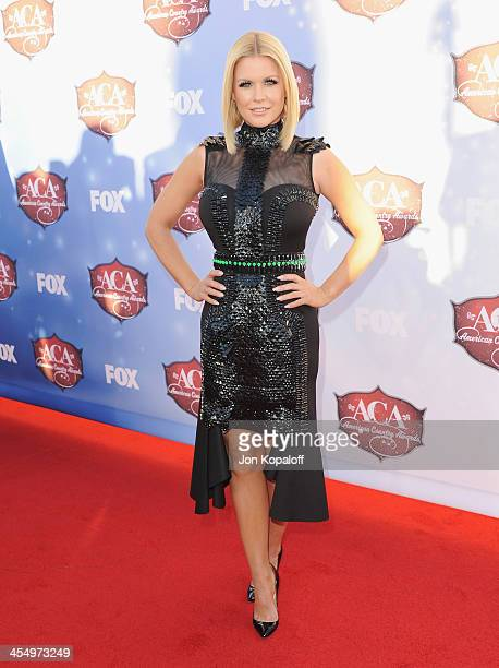 Carrie Keagan arrives at the American Country Awards 2013 at the Mandalay Bay Events Center on December 10 2013 in Las Vegas Nevada