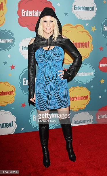 Carrie Keagan arrives at the Entertainment Weekly's Annual ComicCon celebration held at Float at Hard Rock Hotel San Diego on July 20 2013 in San...