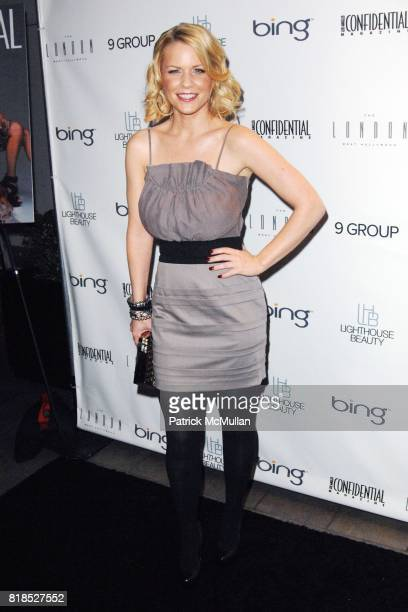 Carrie Keagan attend Niche Media's Los Angeles Confidential Magazine and Bing Celebrates its Fall Fashion Issue with the Kardashian Sisters at The...