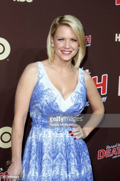 Carrie Keagan attends HBO Presents the Season Premiere of BORED TO DEATH at NYU Skirball Center on September 21 2010 in New York City