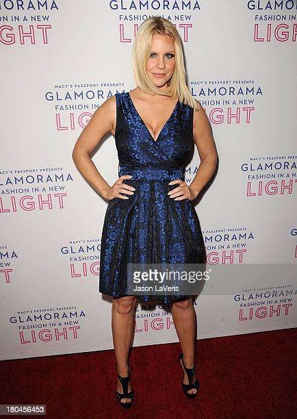 Carrie Keagan attends Macy's Passport presents Glamorama at Orpheum Theatre on September 12 2013 in Los Angeles California