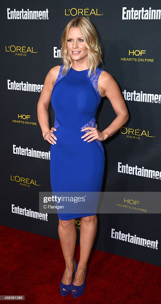 Carrie Keagan attends the 2014 Entertainment Weekly Pre-Emmy Party at Fig & Olive Melrose Place on August 23, 2014 in West Hollywood, California.