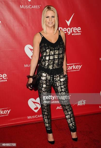 Carrie Keagan attends the 2014 MusiCares Person of the Year honoring Carole King at Los Angeles Convention Center on January 24 2014 in Los Angeles...