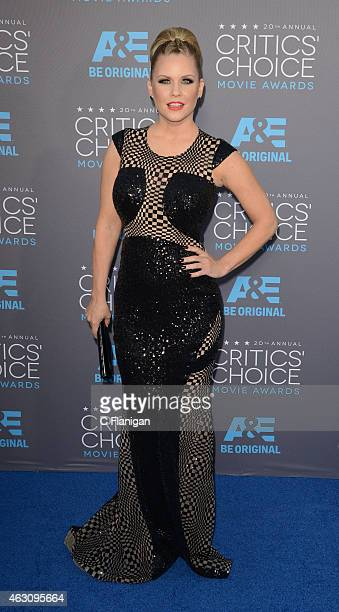 Carrie Keagan attends The 20th Annual Critics' Choice Movie Awards at Hollywood Palladium on January 15 2015 in Los Angeles California