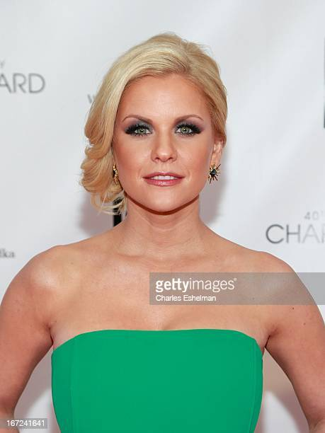 Carrie Keagan attends the 40th Anniversary Chaplin Award Gala at Avery Fisher Hall at Lincoln Center for the Performing Arts on April 22 2013 in New...