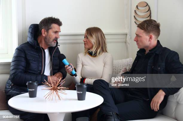 Carrie Keagan interviews Rupert Everett and Edwin Thomas at the DIRECTV Lodge presented by ATT during Sundance Film Festival 2018 on January 21 2018...
