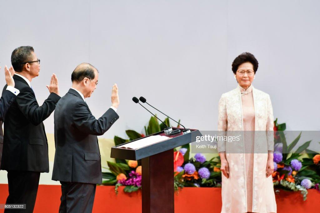 Xi Jinping Visits Hong Kong For 20th Anniversary Of The City's Handover