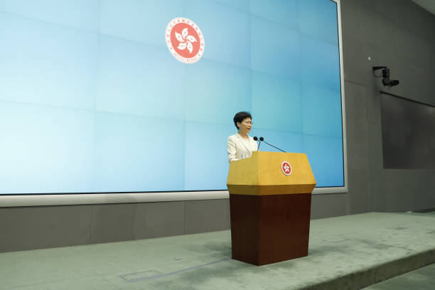 HKG: Hong Kong Chief Executive Lam Apologizes After Controversial Bill Suspended