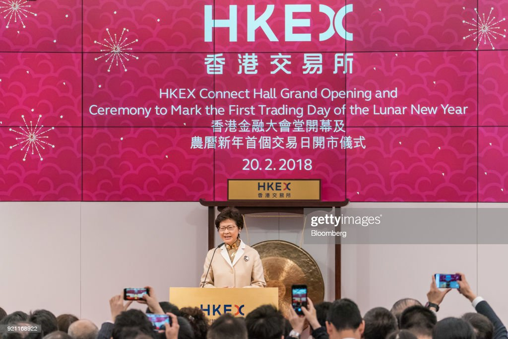 Hong Kong Exchange Connect Hall Grand Opening and Ceremony to Mark First Trading Day of Lunar New Year