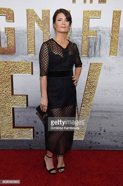 Carrie Lazar attends The Magnificent Seven premiere at Museum of Modern Art on September 19 2016 in New York City