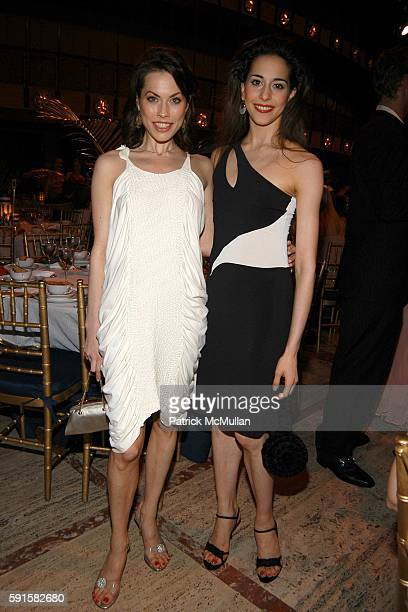 Carrie Lee Riggins and Alexandra Ansanelli attend New York City Ballet Dance With the Dancers at New York State Theater on June 13 2005 in New York...