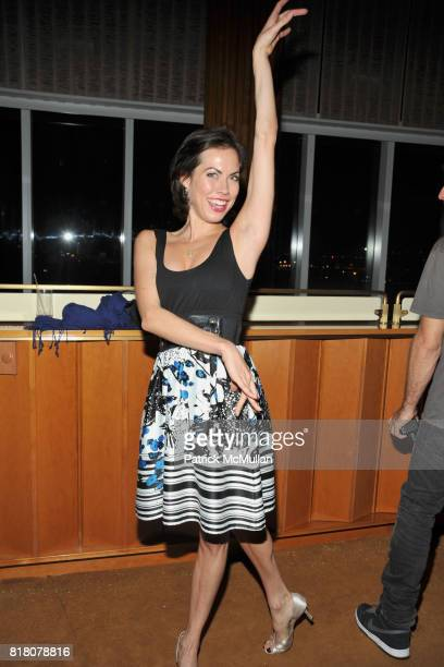 Carrie Lee Riggins attends COLUMBIA PICTURES THE CINEMA SOCIETY host the after party for THE SOCIAL NETWORK at Gansevoort Park Avenue on September 29...