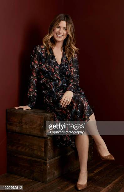 Carrie Locklyn of HGTV's 'Extreme Makeover Home Edition' poses for a portrait at the 2020 Winter TCA Portrait Studio at The Langham Huntington...
