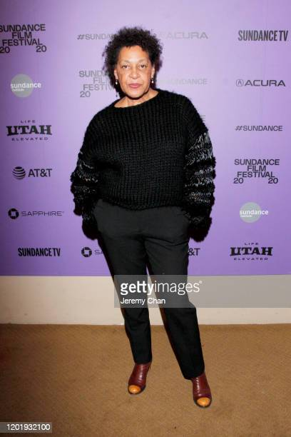 Carrie Mae Weems attends the 2020 Sundance Film Festival Power Of Story Just Art Panel at Egyptian Theatre on January 25 2020 in Park City Utah