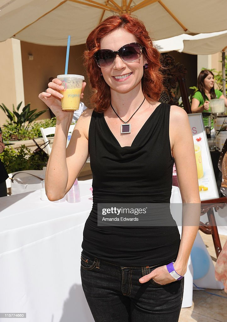 Carrie Preston attends the Kari Feinstein MTV Movie Awards Style Lounge held at Montage Beverly Hills on June 3, 2010 in Beverly Hills, California.