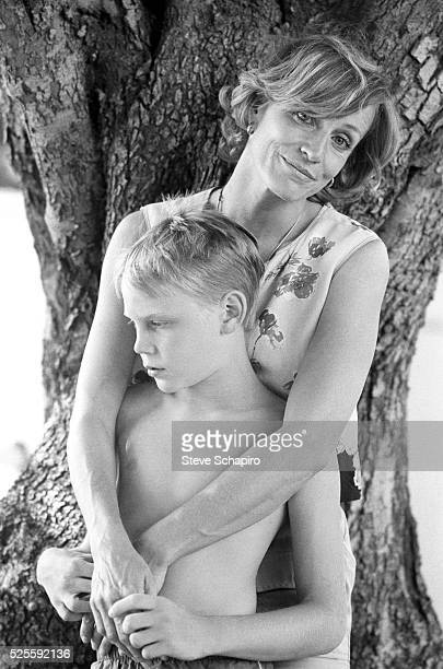 Carrie Snodgrass and son Zeke