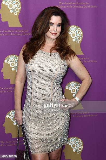 Carrie Stevens attends The Jonathan Foundation's Fundraiser to Aid Children with Autism and Learning Disabilities at Marconi Automotive Museum on...