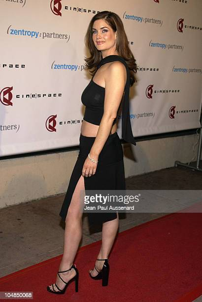 Carrie Stevens during CineSpace Digital Supper Club Lounge Opening Party Arrivals at CineSpace in Hollywood California United States