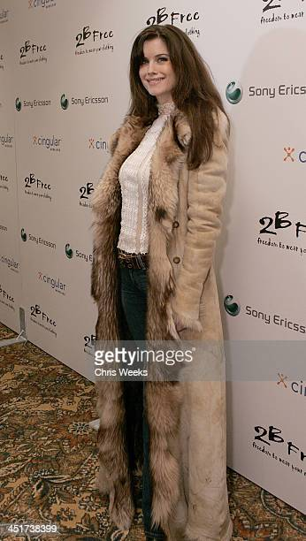 Carrie Stevens during Sony Ericsson and Cingular Wireless Present The 2 B Free Fall 2006 Collection Red Carpet at GM Penthouse at the Regent Beverly...
