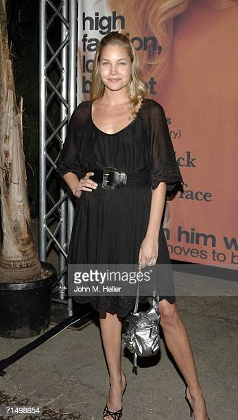 Carrie Tivador attends a celebration hosted by Heidi Klum for Jane magazine's August issue benefiting the children's organization Clothes Off Our...