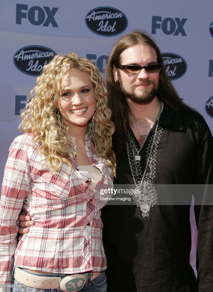 Carrie Underwood And Bo Bice During American Idol Season 4 Finale News Photo Getty Images
