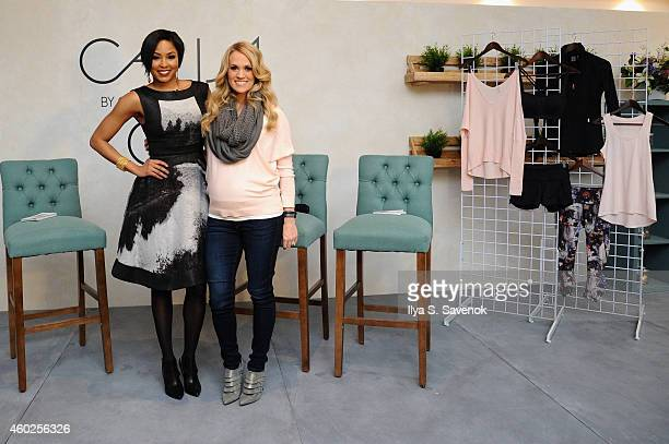 Carrie Underwood and DICK'S Sporting Goods launch CALIA by Carrie Underwood a fitness and lifestyle apparel brand at an event on December 10 2014...