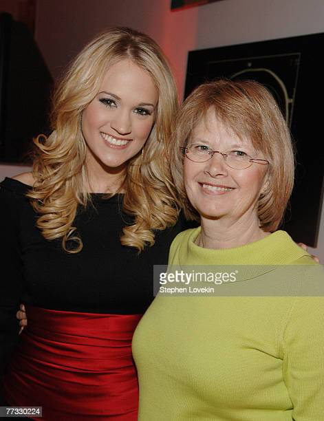 Carrie Underwood and her mother Carol Underwood