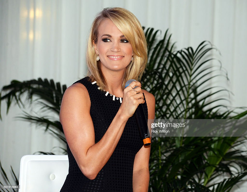 Carrie Underwood announces partnership with Carnival Cruise Line on January 28, 2016 in Jacksonville, Florida.