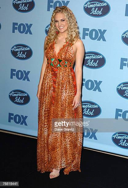 Carrie Underwood at the Kodak Theatre in Hollywood California