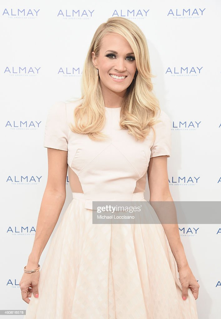Carrie Underwood Attends Almay Fresh-Faced Beauty Day