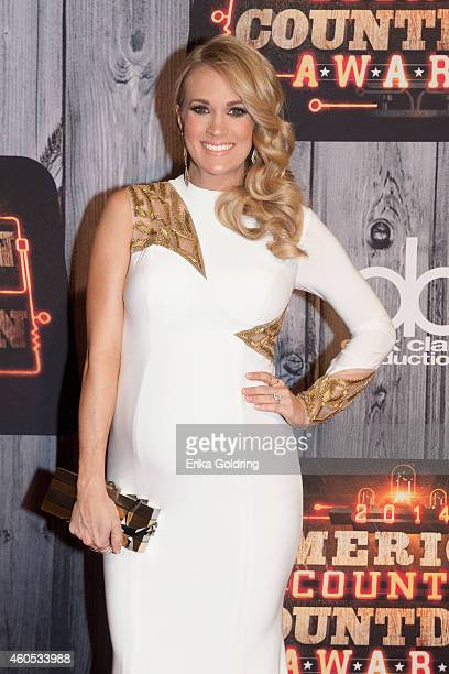 Carrie Underwood attends the 2014 American Country Countdown Awards at Music City Center on December 15 2014 in Nashville Tennessee