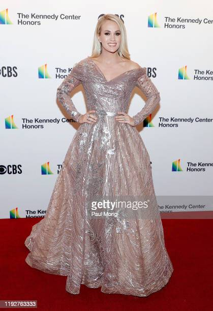 Carrie Underwood attends the 42nd Annual Kennedy Center Honors Kennedy Center on December 08 2019 in Washington DC