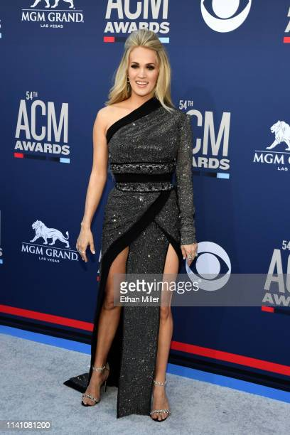 957e274dcde Carrie Underwood attends the 54th Academy Of Country Music Awards at MGM  Grand Hotel Casino on