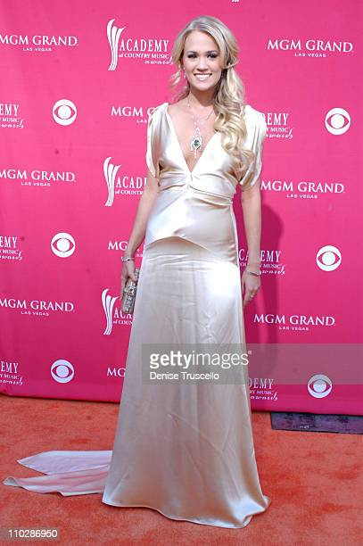 Carrie Underwood during 41st Annual Academy of Country Music Awards Arrivals at MGM Grand in Las Vegas Nevada United States