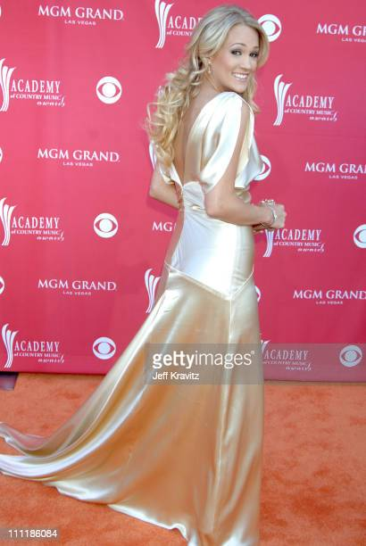 Carrie Underwood during 41st Annual Academy of Country Music Awards Arrivals at MGM Grand Theater in Las Vegas Nevada United States