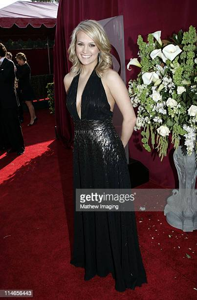 Carrie Underwood during 57th Annual Primetime Emmy Awards Red Carpet at The Shrine in Los Angeles California United States