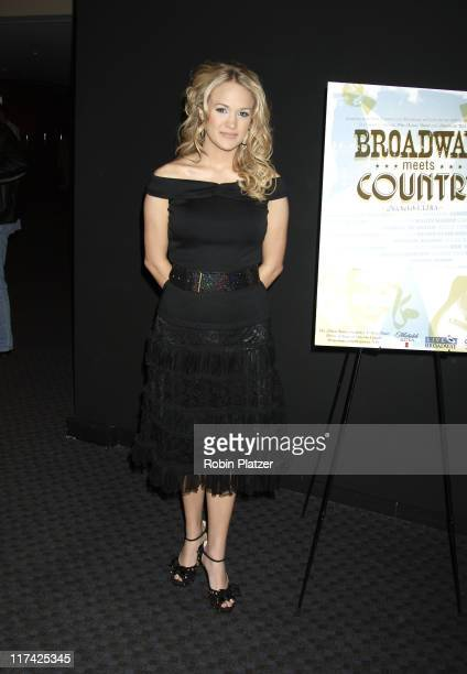 Carrie Underwood during Country Takes New York City - Broadway Meets Country - Outside Arrivals at Allen Room, Jazz at Lincoln Center in New York...