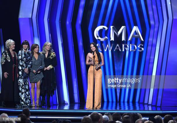 AWARDS Carrie Underwood hosts The 53rd Annual CMA Awards with special guest hosts Reba McEntire and Dolly Parton celebrating legendary women in...