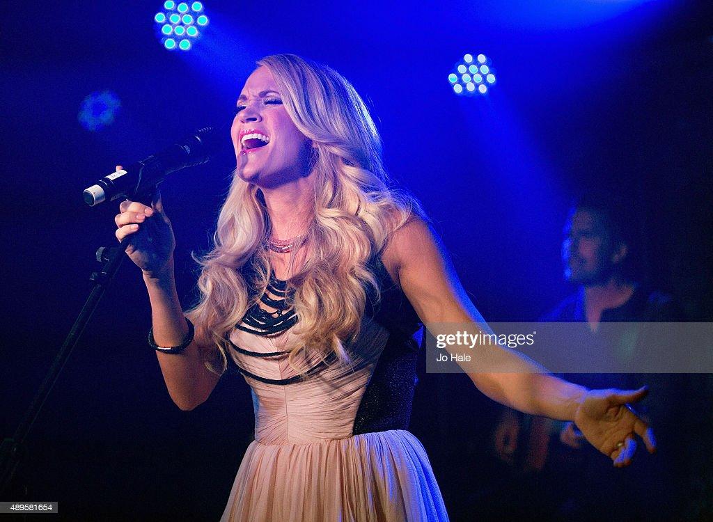 Carrie Underwood Album Launch : News Photo