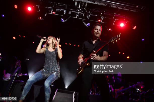 Carrie Underwood performs live exclusively for American Airlines AAdvantage® Mastercard® cardmembers at The Fillmore Philadelphia on Thursday on June...