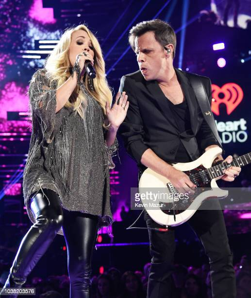 Carrie Underwood performs onstage during the 2018 iHeartRadio Music Festival at TMobile Arena on September 22 2018 in Las Vegas Nevada