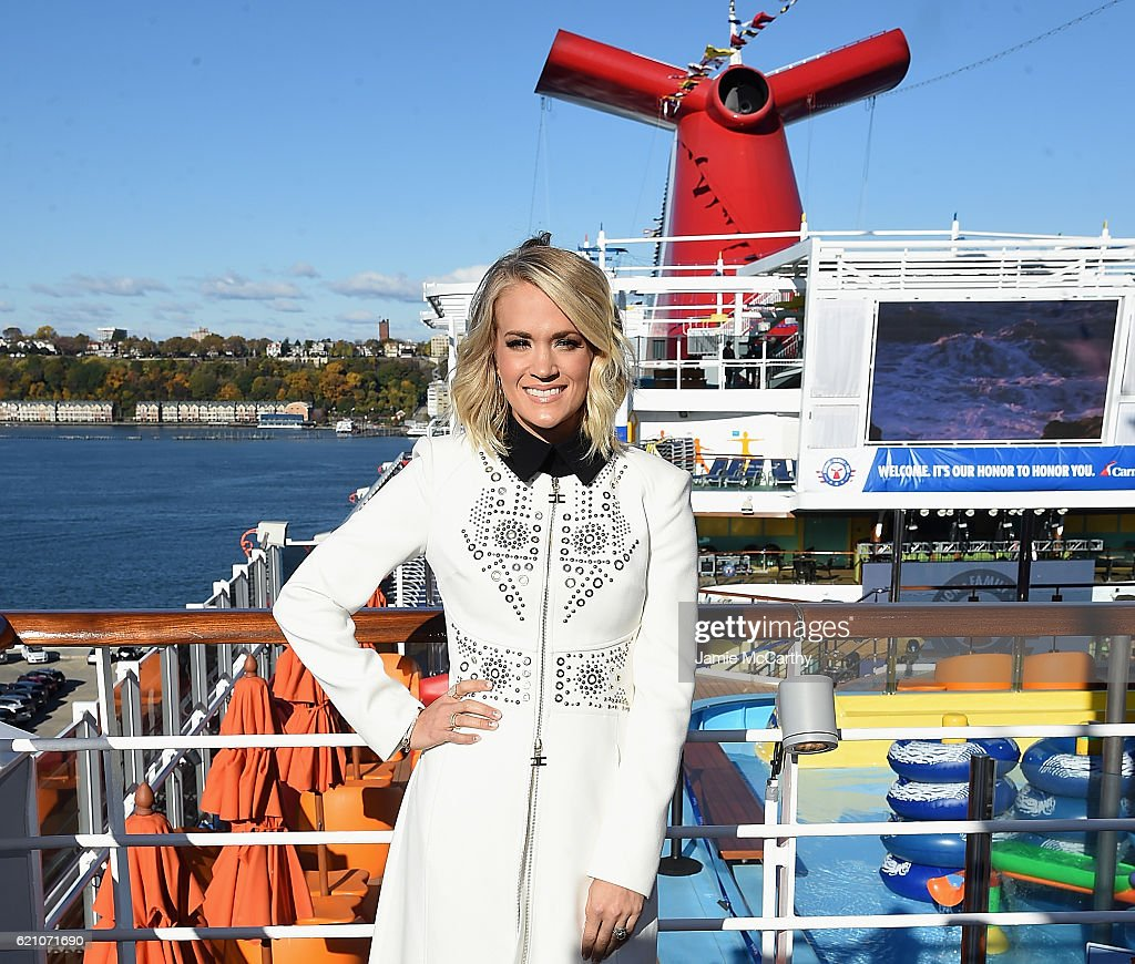 Carrie Underwood For Carnival Vista
