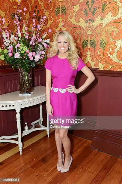 Carrie Underwood poses for a portrait ahead of performing at the Country to Country Festival at The 02 on Sunday 17th March at The St Pancras...