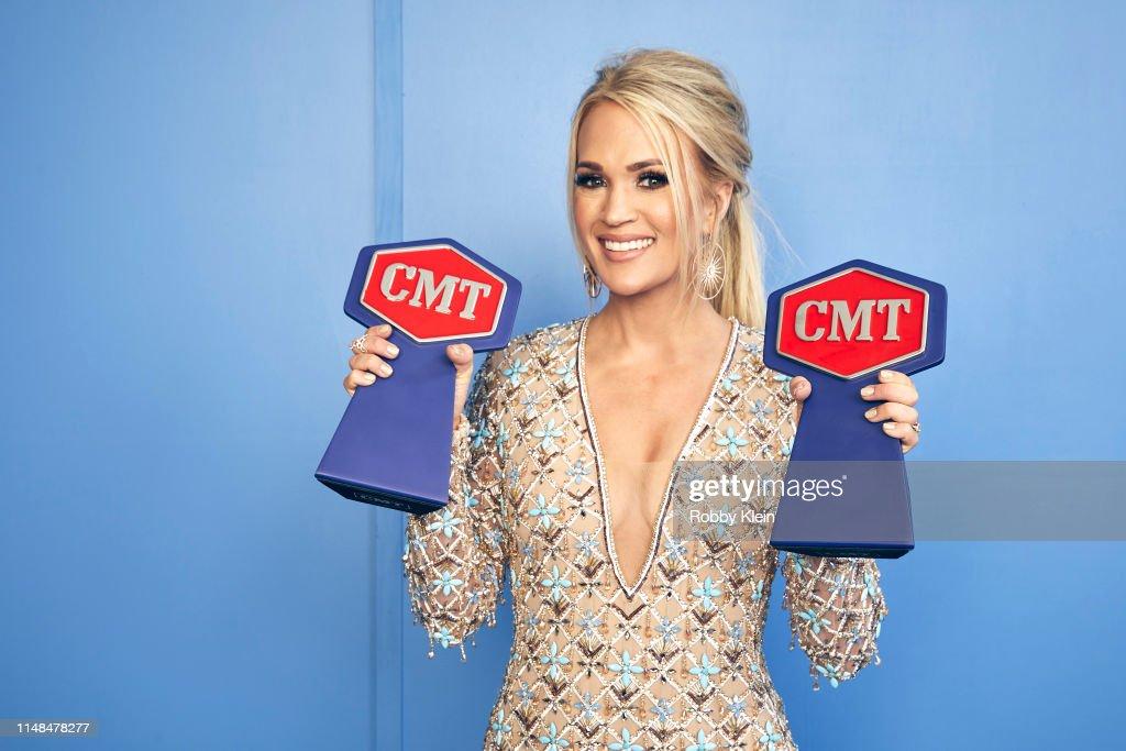 2019 CMT Music Awards - Portraits : News Photo