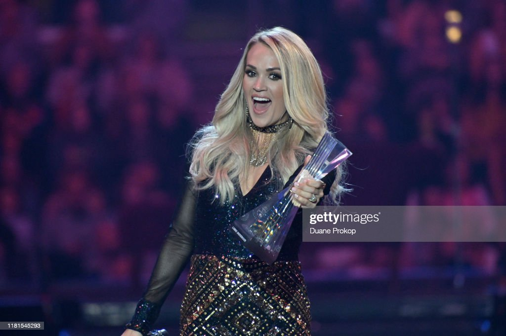 CMT Artists of the Year: Carrie Underwood Remote Performance : News Photo