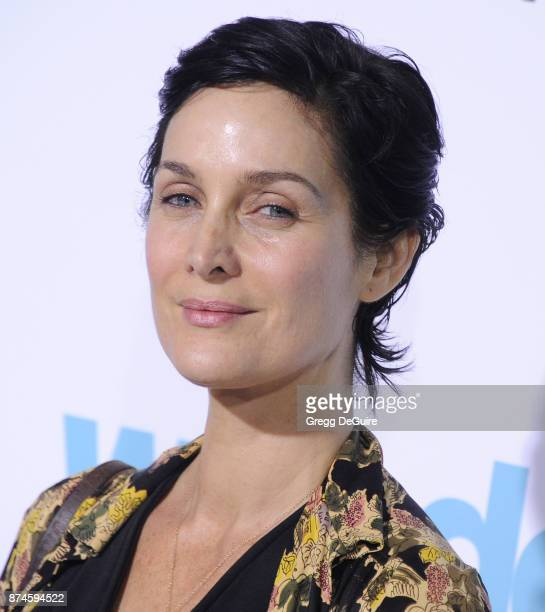 CarrieAnne Moss arrives at the premiere of Lionsgate's 'Wonder' at Regency Village Theatre on November 14 2017 in Westwood California