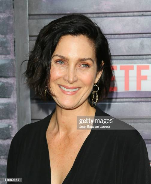 CarrieAnne Moss attends a special screening of Netflix's Jessica Jones Season 3 at Arclight Cinemas on May 28 2019 in Los Angeles California