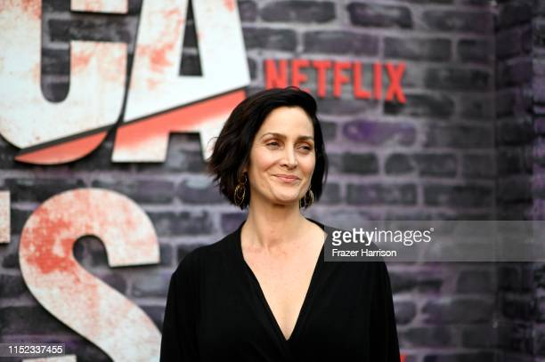CarrieAnne Moss attends a Special Screening Of Netflix's Jessica Jones Season 3 at ArcLight Hollywood on May 28 2019 in Hollywood California